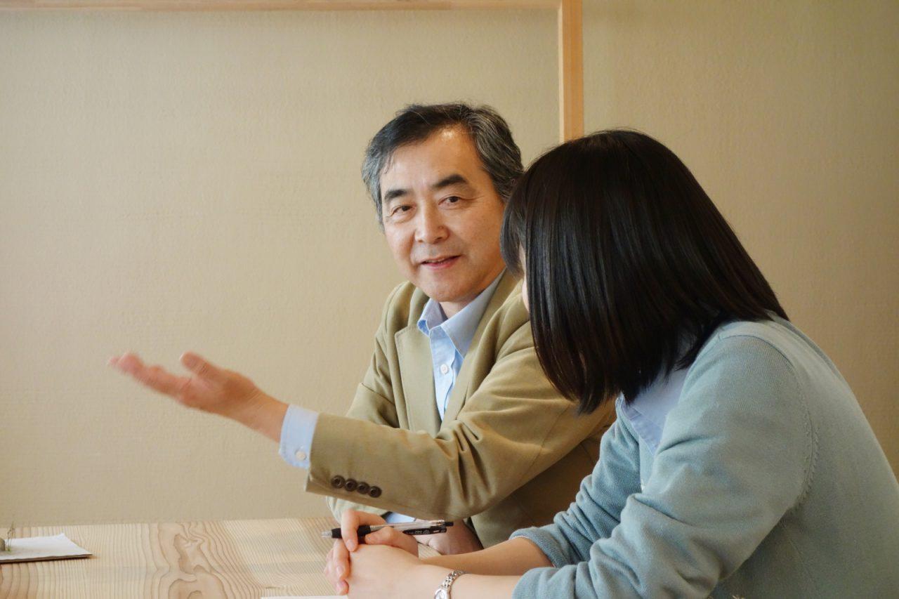 迎川利夫さん。ソーラータウン久米川のまちづくりでは見積システムを開発し、施主の希望をふまえて即座に住宅の価格を算出する仕組みをつくった