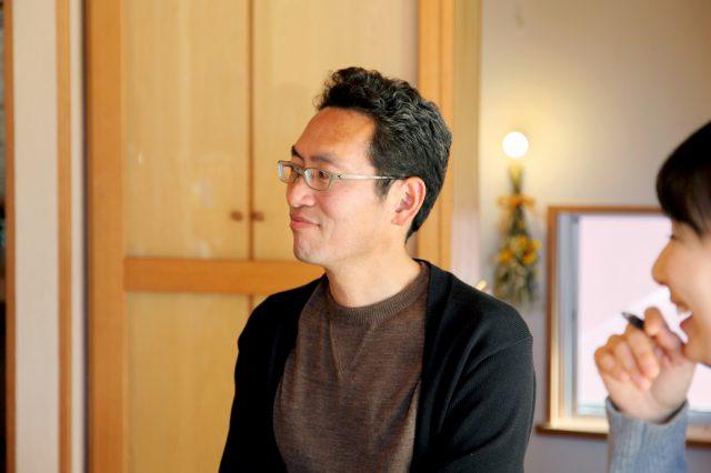 カエデハウスを設計した「しまだ設計室」の島田貴史さん