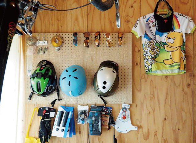 自転車アイテムたち。