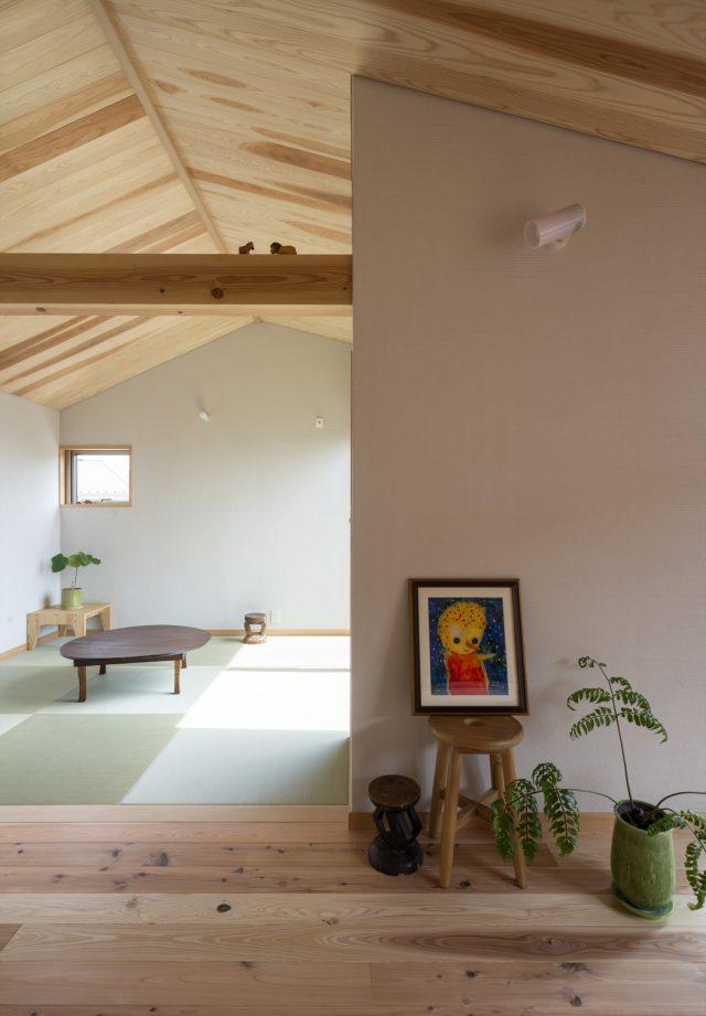 2階和室(現在:アロマスペース)