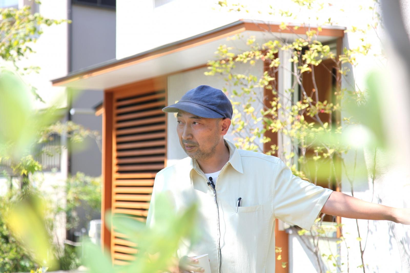自然が好き。そんな自身の中にある本質に気づき、いまも大地に絵を描きつづけている造園家の小林賢二さん