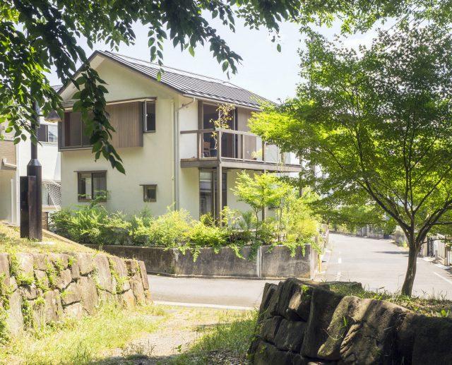 トトロの森を望む家(東京都東村山市 N邸|2016年)