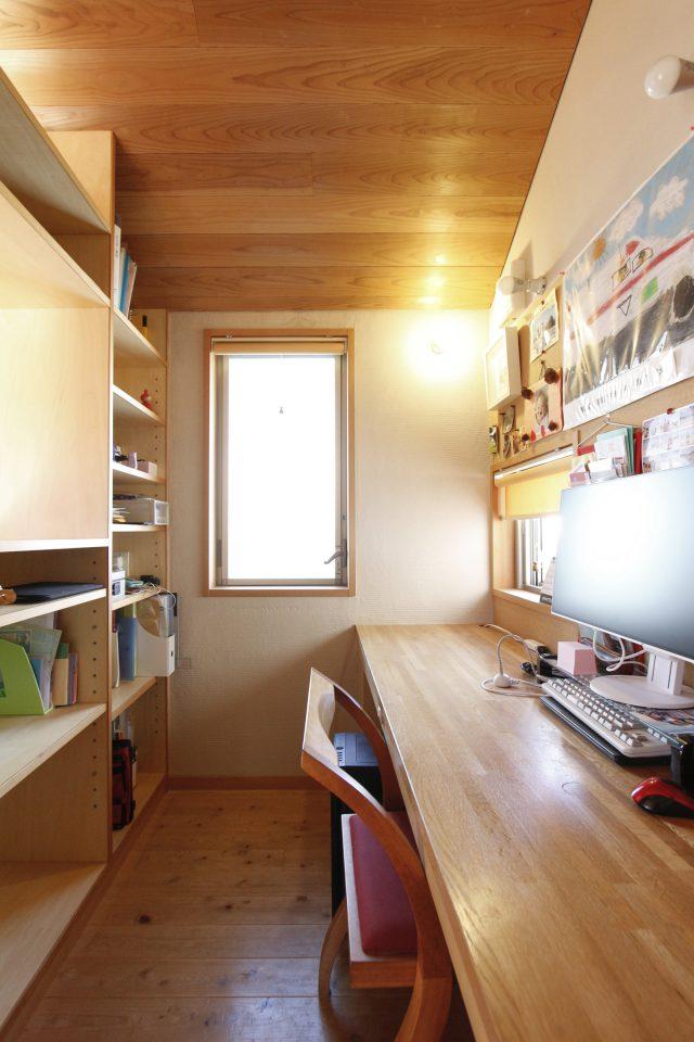 書斎スペース。