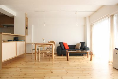 シンプルに暮らすマンションリフォーム