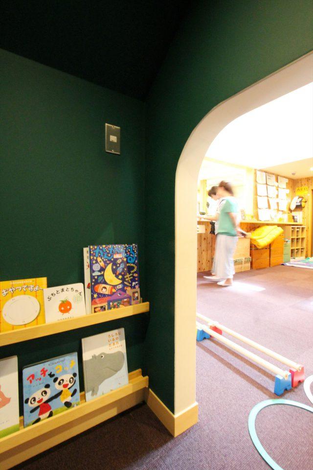 隠れ家図書スペース