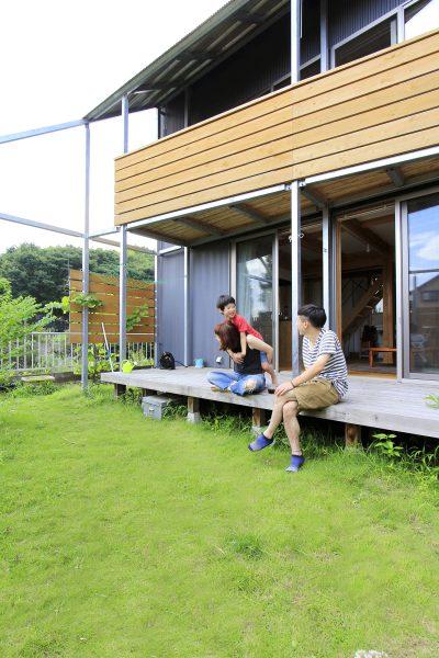 小さなお家と大きなお庭
