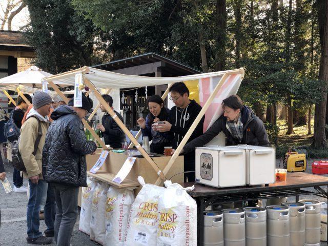 東村山に生まれたクラフトビール工房「ディスタント・ショアーズ・ブルーイング」さんも屋台で出店。
