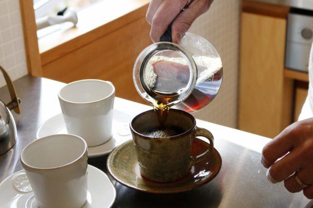 こだわりのハンドドリップコーヒー