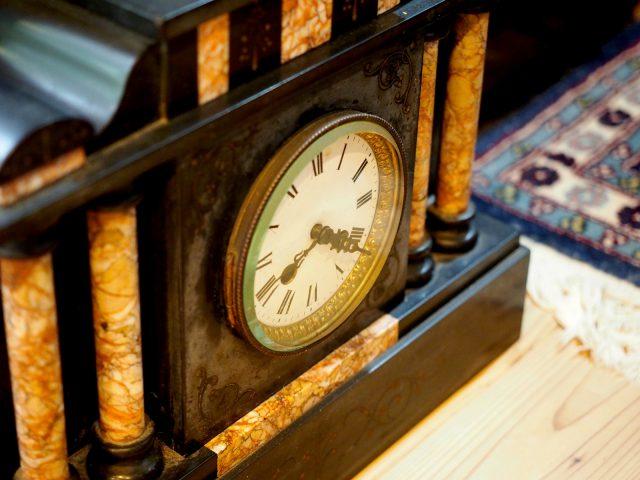 古道具屋で出会った時計