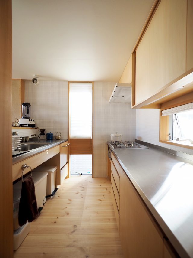 顔の見える対面キッチン