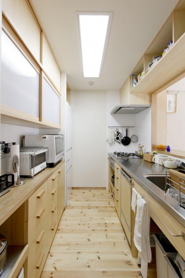 木の造作キッチン