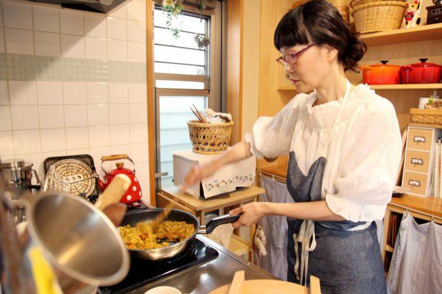 キッチンからは良い香り……!