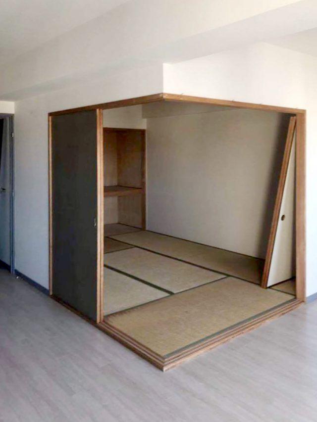 【before】フラットな畳スペース