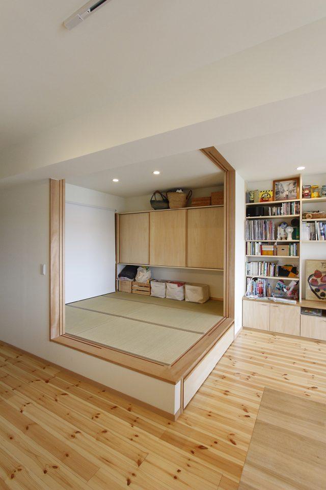 【after】小上がりの畳スペース