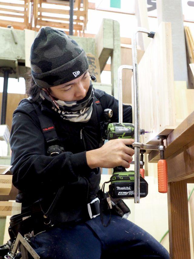 「大工の手」家具をつくる加瀬大工