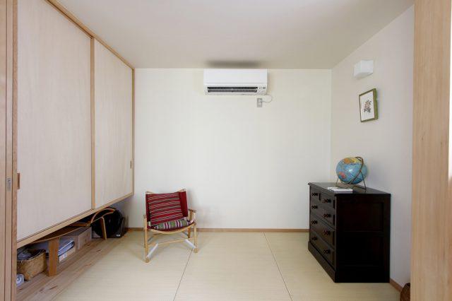 和室は3畳で十分な広さ。