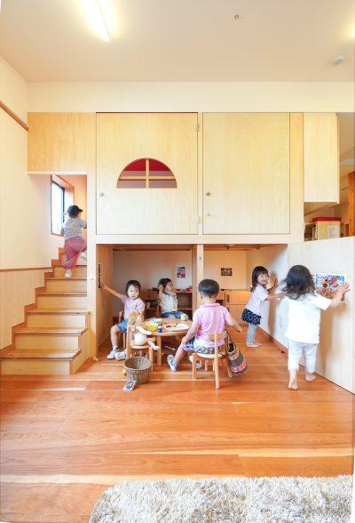 子どもの夢をとことん叶える、木造の保育園