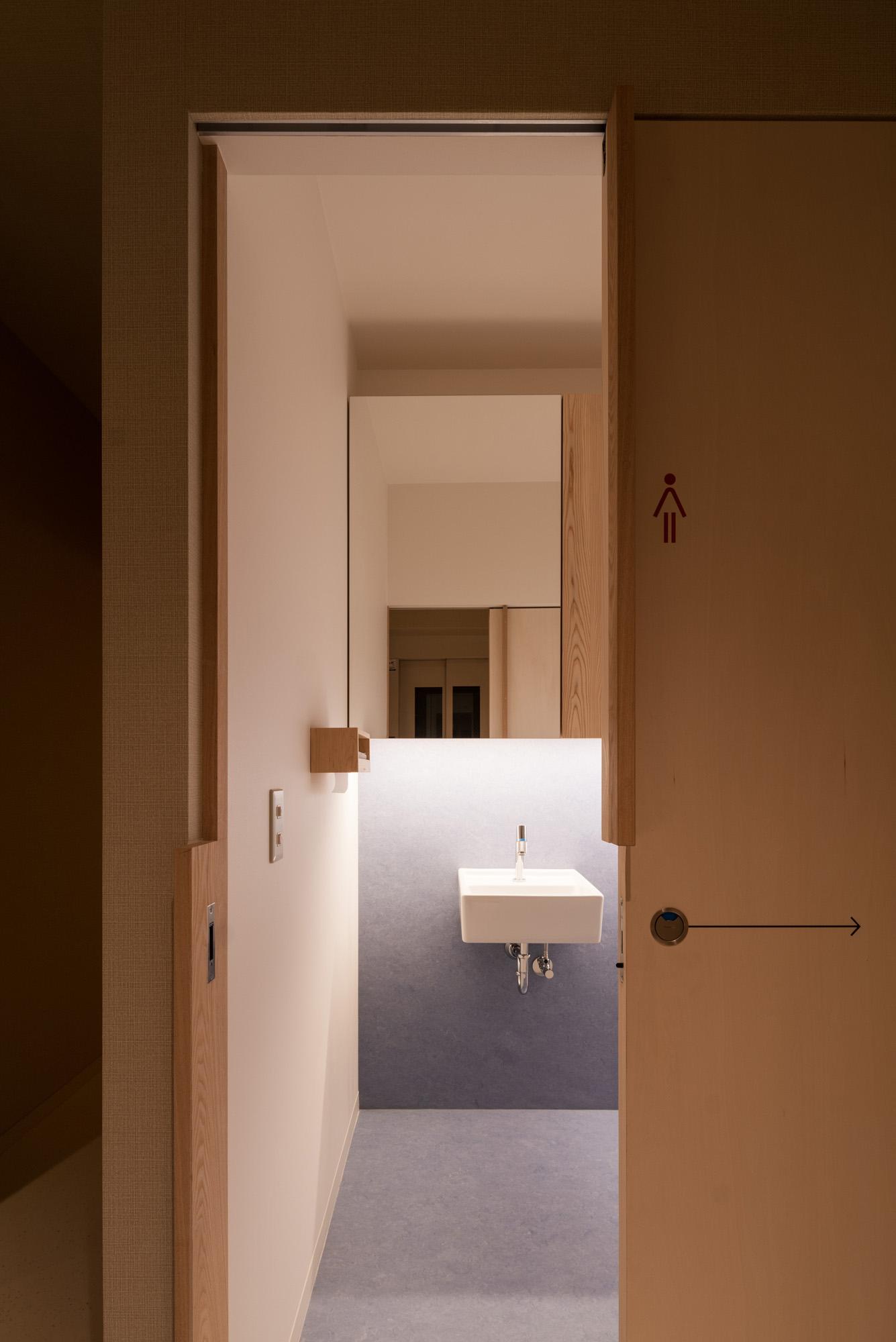 相羽建設本社 オフィスの環境改善!使って試せるトイレ