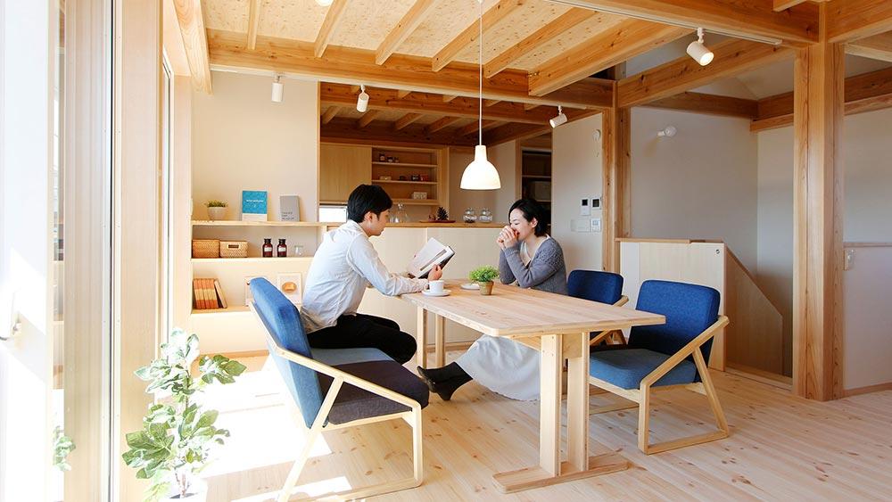 秋津町の家