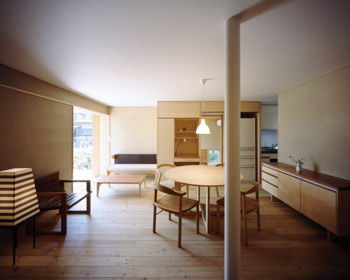 つむじの3階建木造ドミノ住宅、i-worksも見学ください
