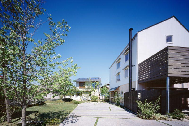 会場は、3つの建物をご見学いただける「つむじ」モデルハウス