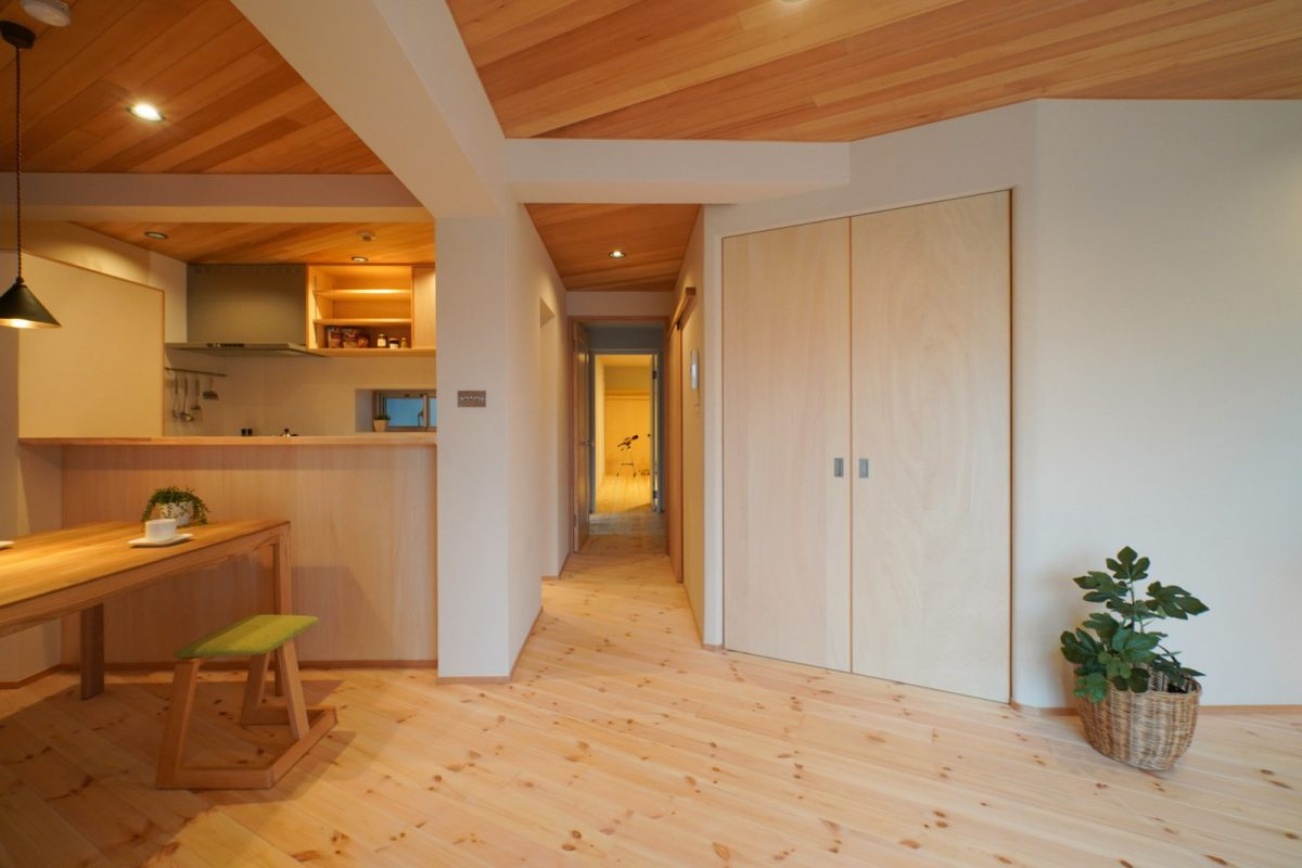 ainoha109号特集記事のI邸。デザイン担当は太田礼美さん。