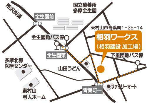 集合場所…相羽ワークス(東村山市青葉町1-25-14)