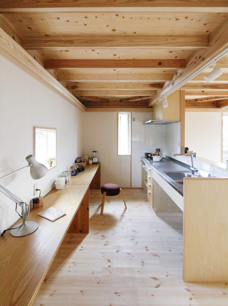 1区画:2階キッチン…家族とお話しながらお料理もできる