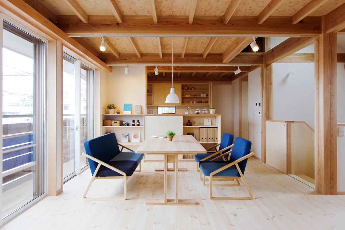 秋津町の家:2階リビング