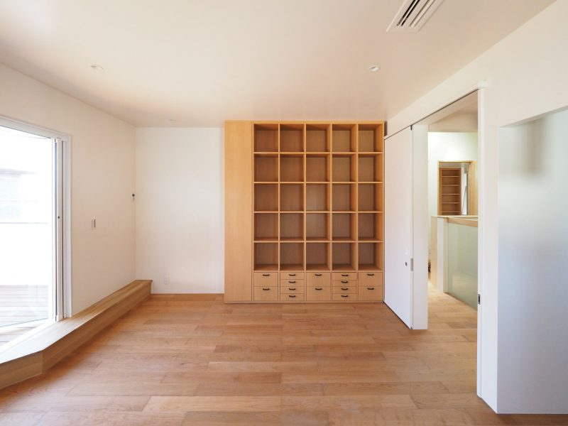 二階居室にも収納を造作