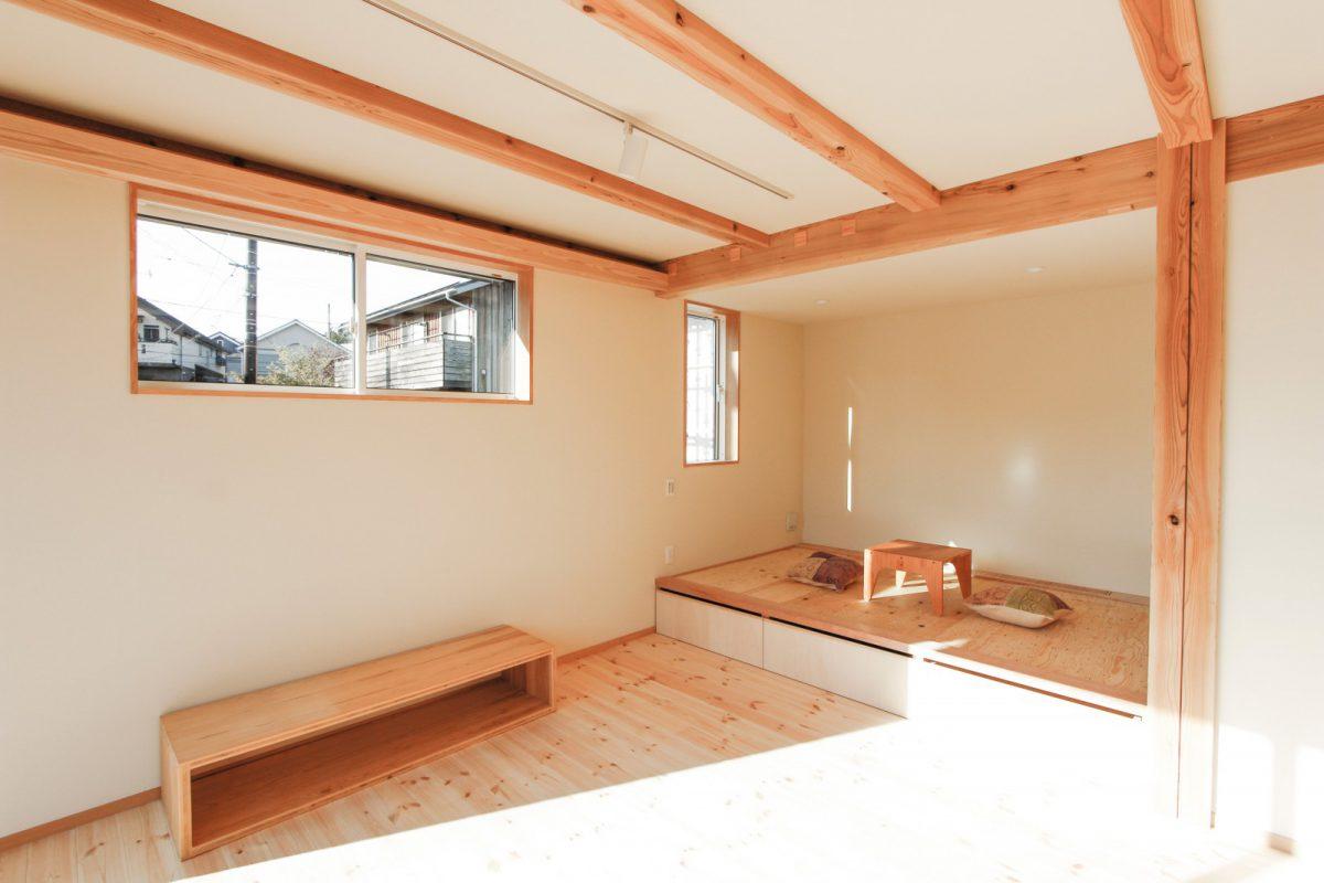 小上がり畳スペース(畳は見楽会までに設定予定です)