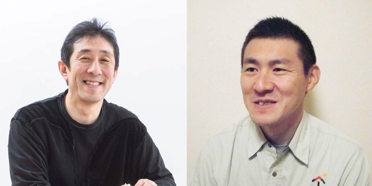 左:小泉誠さん/右:荻野照明