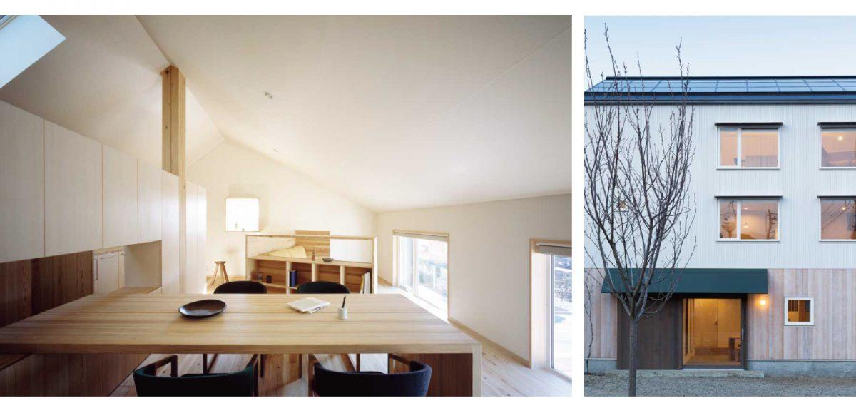 3階建木造ドミノ住宅 インフィルデザイン:Koizumi Studio 小泉誠